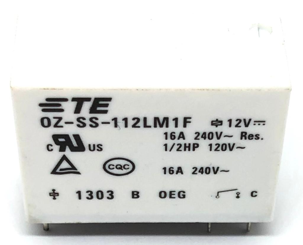 RELE OZ-SS-112LM1F 12VDC OEG_TE CONNECTIVITY (OZSS112LM1F)