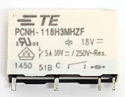 RELE PCNH-118H3MHZ 18VDC TE CONNECTIVITY (PCNH118H3MHZ)