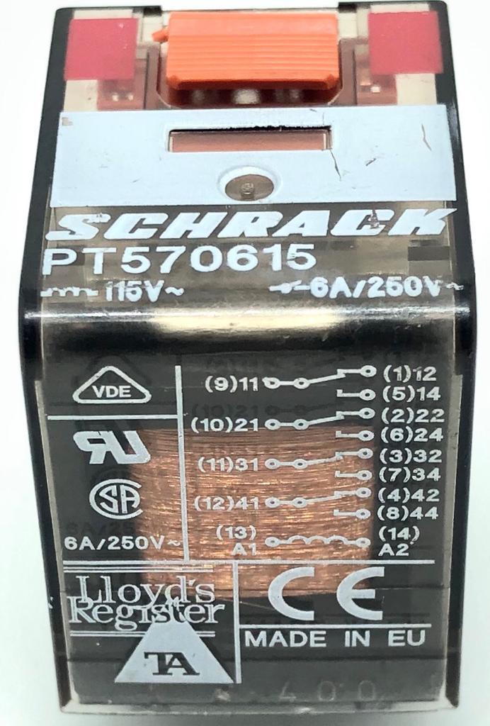 RELE PT570.615 SCHRACK (PT570615)