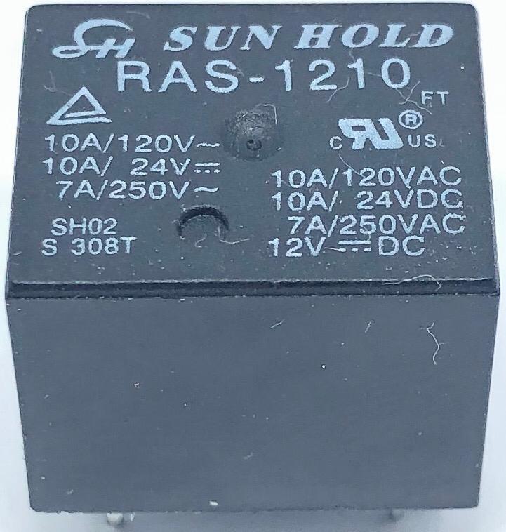 RELE RAS-1210 12VDC SUN HOLD (RAS1210)