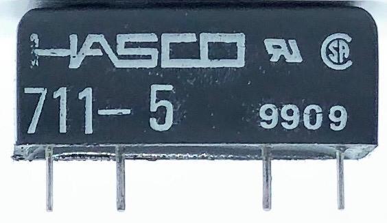 RELE REED 711-5 5VDC HASCO (7115)