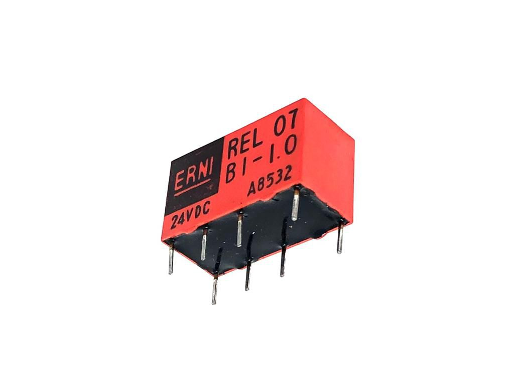 RELE REL07-B1-1-0 24VDC ERNI (REL07B110)