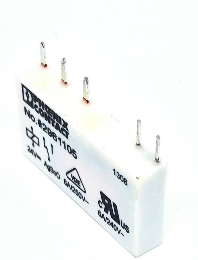 RELE REL-MR-24DC/21 24VDC 2961105 PHOENIX CONTACT (RELMR24DC21)