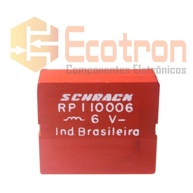 RELE RP110.006 6VDC SCHRACK (RP110006)