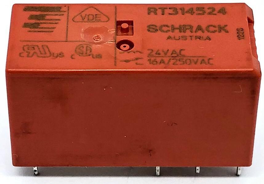 RELE RT314.524 24VDC SCHRACK (RT314524)