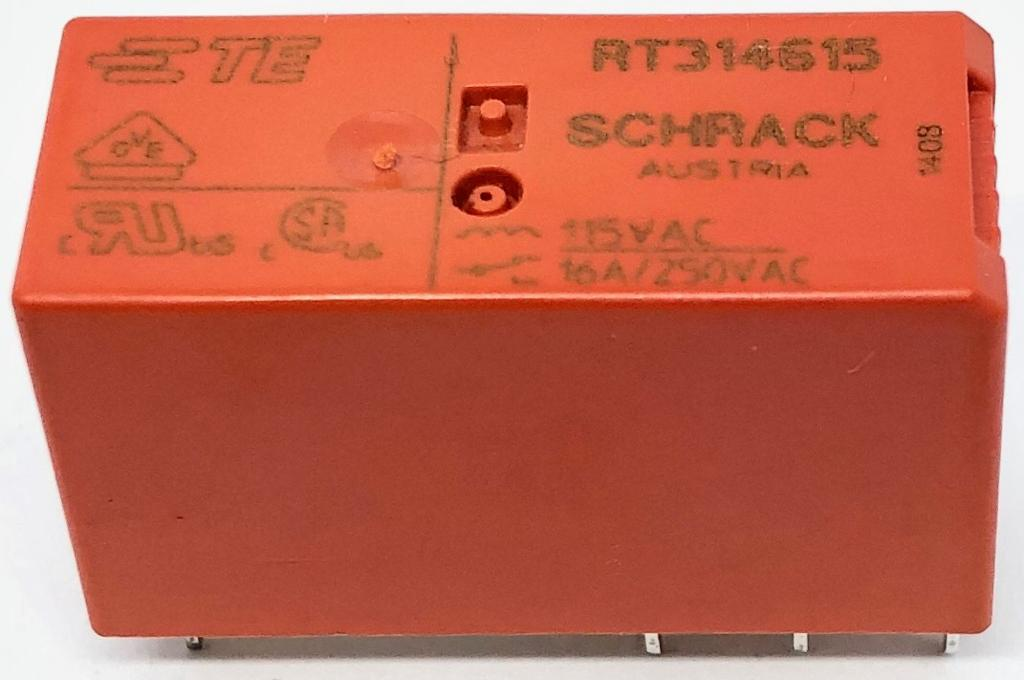 RELE RT314.615 115VCA SCHRACK (RT314615)