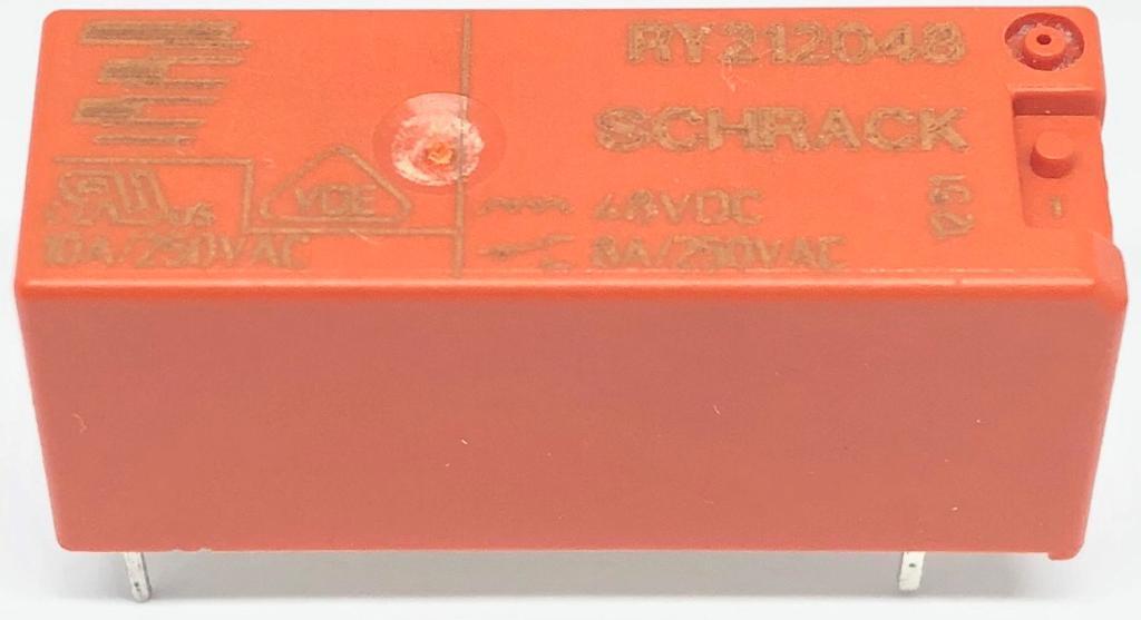 RELE RY212.048 48V 5-1393224-9 SCHRACK_TYCO (RY212048)