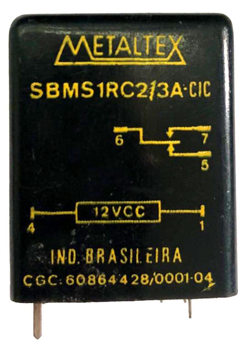 RELE SBMS1RC2/3A-CIC 12VDC METALTEX
