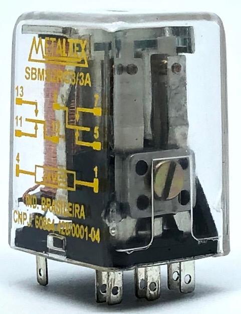 RELE SBMS2RC3/3A 24VDC METALTEX (SBMS2RC33A)