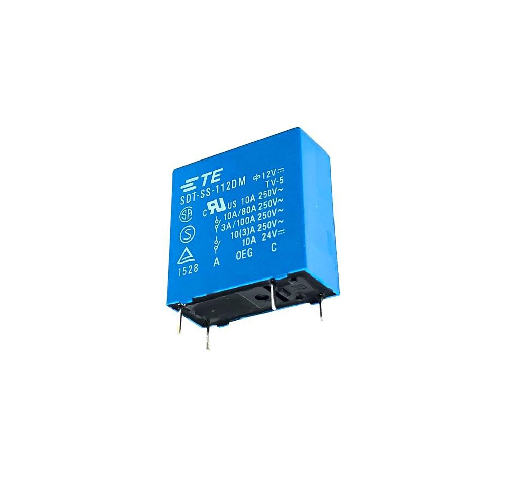 RELE SDT-SS-112DM.000 12VDC TYCO ELECTRONICS (SDTSS112DM000)