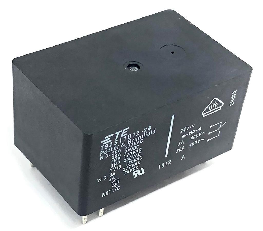 RELE T92S11D12-24 24VCA TYCO ELECTRONICS (9-1393211-0)