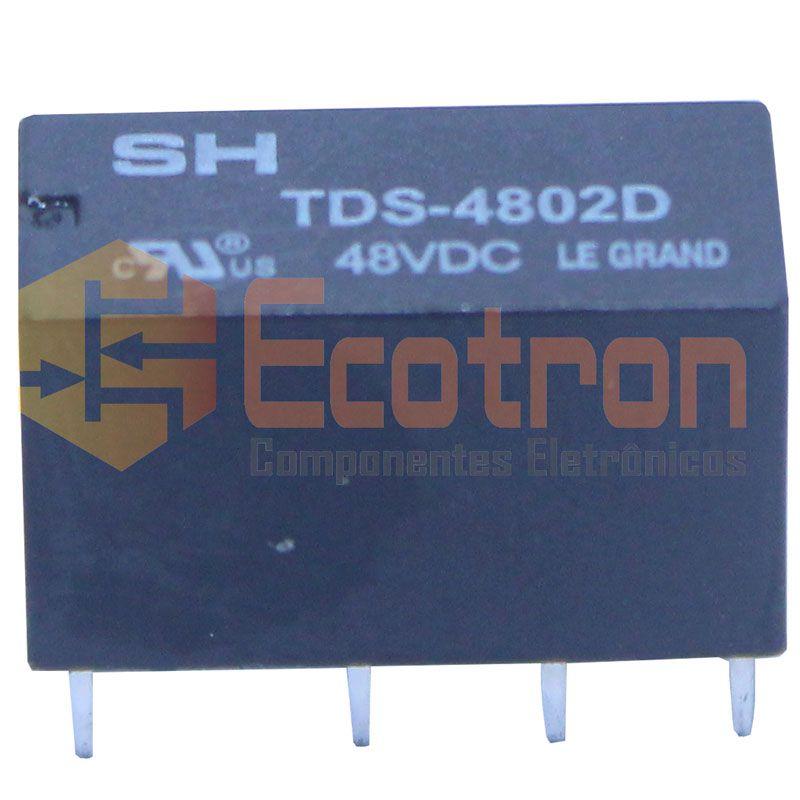 RELE TDS4802D 48VDC SH LE GRAND (TDS-4802D)