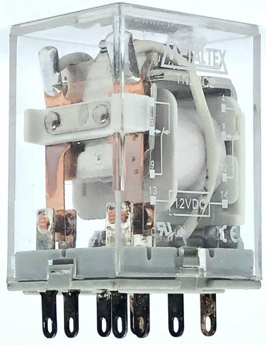 RELE TN2RC2 12VDC METALTEX