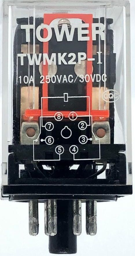 RELE TWMK2P-I 220VCA TOWER (TWMK2PI)