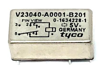 RELE V23040-A0001-B201 5VDC TYCO ELECTRONICS (V23040A0001B201)