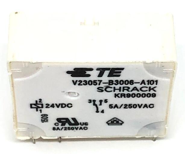RELE V23057-B3006-A101 24VDC SCHRACK_TECONNECTIVITY (V23057B3006A101)
