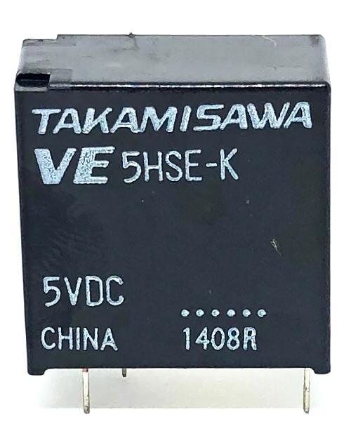 RELE VE-5HSE-K 5VDC FUJITSU_TAKAMISAWA (VE5HSEK)