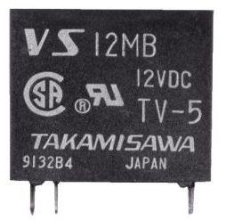 RELE VS12MB 12VDC FUJITSU_TAKAMISAWA