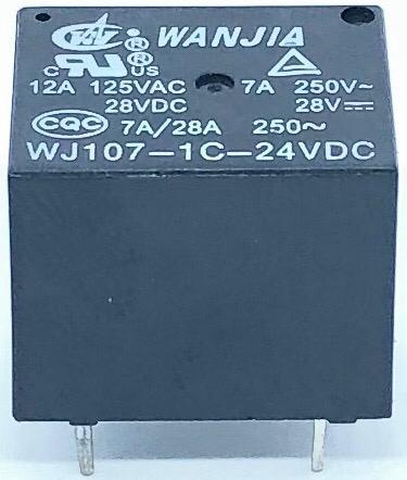 RELE WJ107-1C-24VDC WANJIA (WJ1071C24VDC)