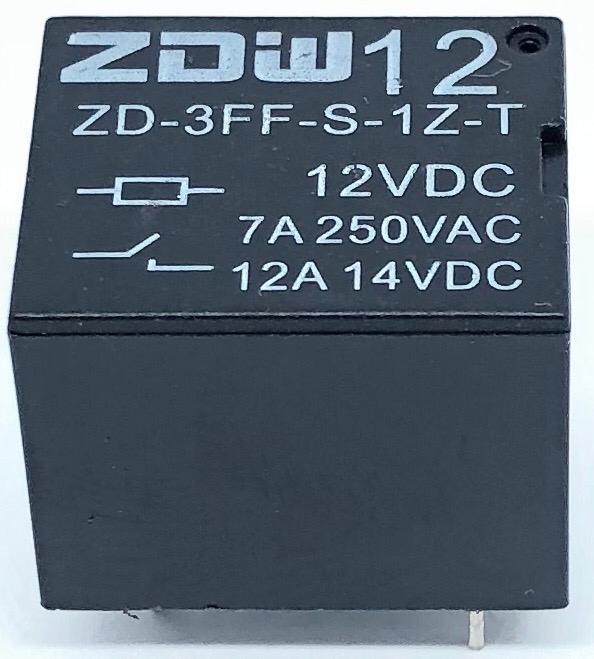 RELE ZD-3FF-S1Z-T ZDW (ZD3FFS1ZT)