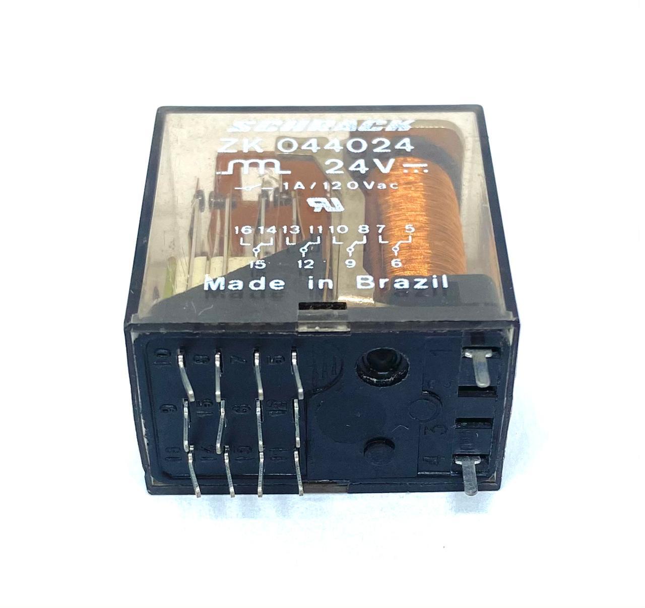 RELE ZK044.024 24VDC SCHRACK (ZK044024)
