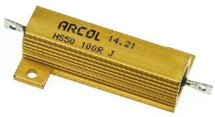 RESISTOR 100R 50W METALICO HS50-100F ARCOL