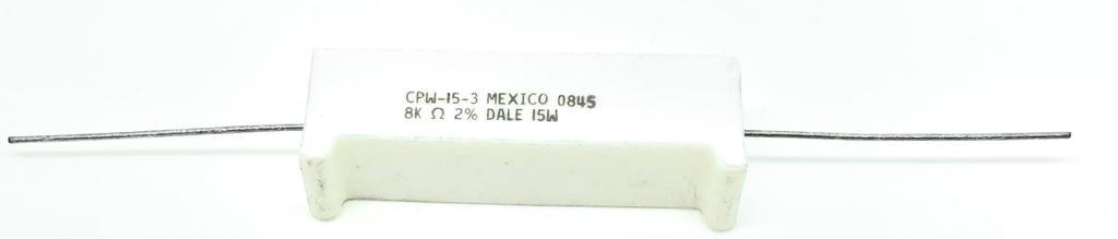 RESISTOR 8K 15W  2% CPW-15-3 DALE_VISHAY (CPW153)