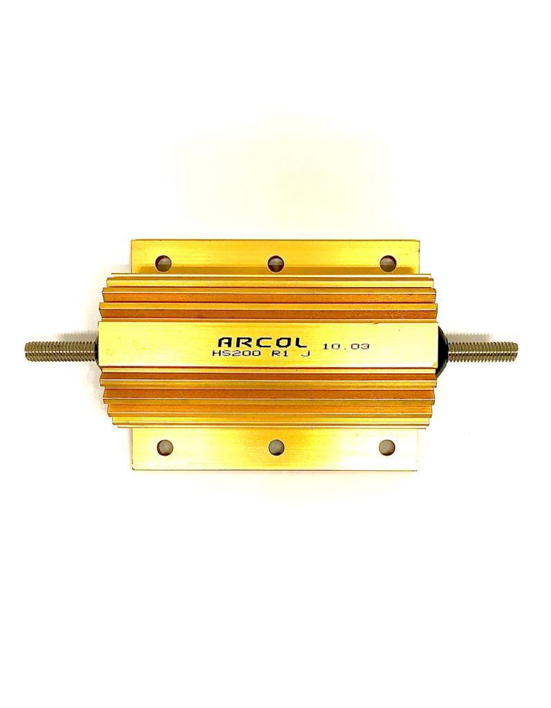 RESISTOR METALICO 0R1 200W 5% HS200 R1J ARCOL