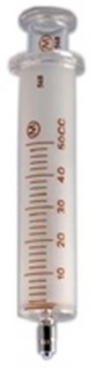 SERINGA VIDRO BICO METAL LOCK 50ML VIDRO ARTI GLASS