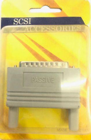 TERMINADOR SCSI1 DB25 MACHO TR004P/IV PASSIVO