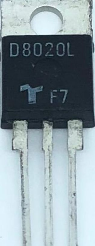 TIRISTOR D8020L TO220 TECCOR