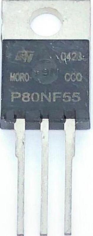 TRANSISTOR STP80NF55 / P80NF55 ST