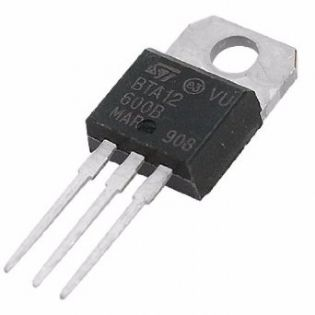TRIAC BTA12-600B TO220 ST
