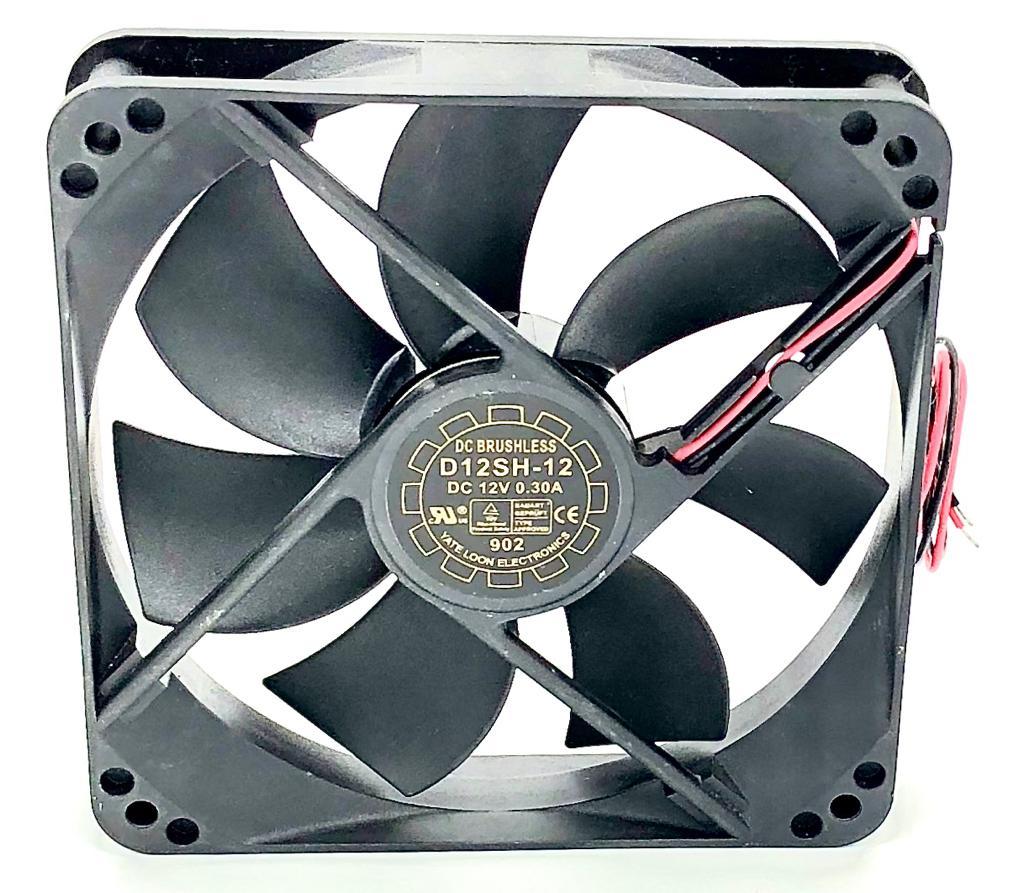 VENTILADOR FAN COOLER 120X120X25MM D12SH-12 12VDC YATE LOON (D12SH12)