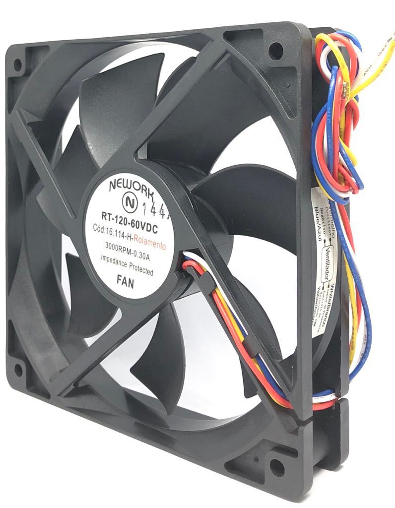 VENTILADOR FAN COOLER 120X120X25MM RT-120 60VDC 16.114H NEWORK (RT120 16114H)