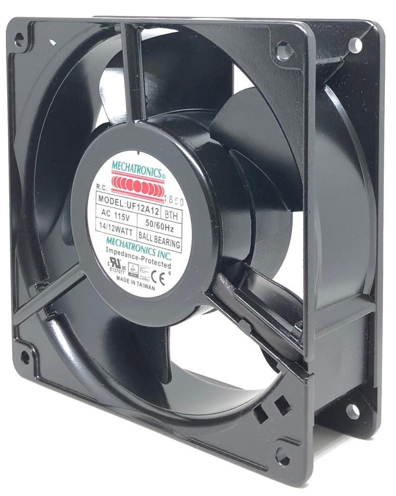 VENTILADOR FAN COOLER 120X120X38MM UF12A12-BTH 115VAC MECHATRONICS (UF12A12BTH)