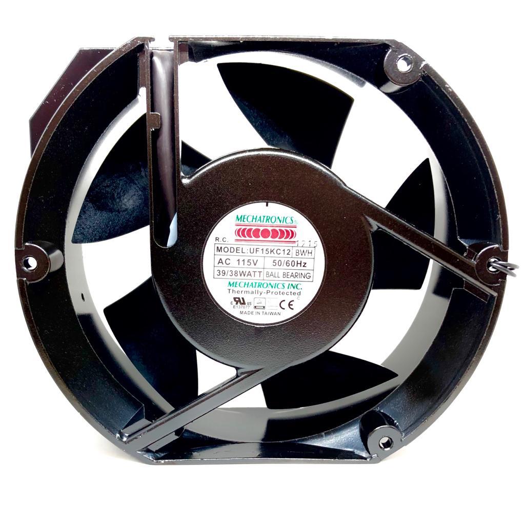 VENTILADOR FAN COOLER 172X150X55MM UF15KC12-BWH 115V MECHATRONICS (UF15KC12BWH)