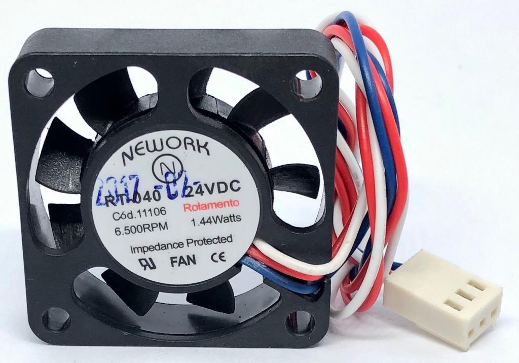 VENTILADOR FAN COOLER 40X40X10MM RT-040 24VDC 11.106 NEWORK (RT040 11106)