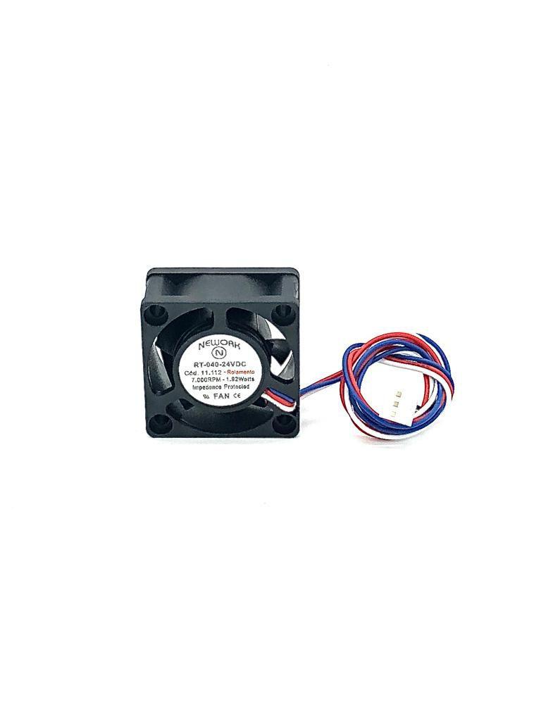 VENTILADOR FAN COOLER 40X40X20MM RT-040 24VDC 11.112 NEWORK (RT040 11112)