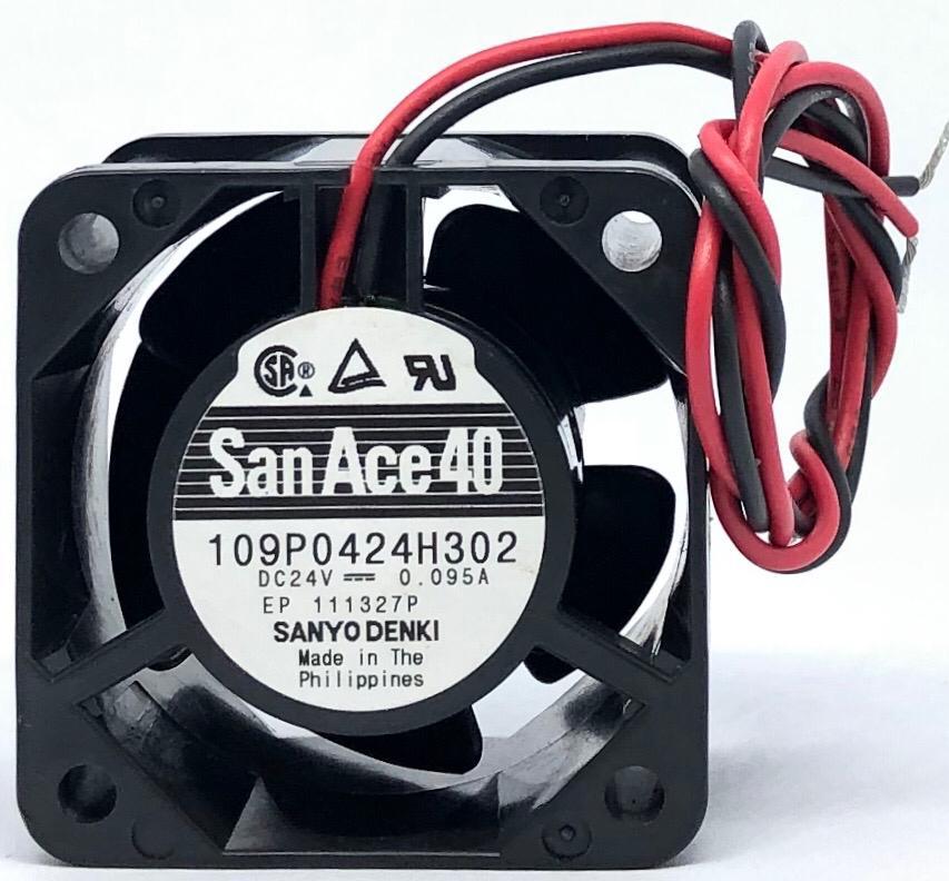 VENTILADOR FAN COOLER 40X40X28MM 109P0424H302 24VDC SANYO DENKI