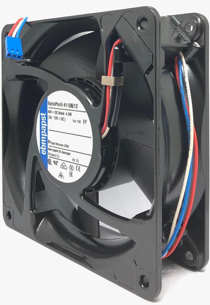 VENTILADOR FAN COOLER 4118N/12-190 48VDC EBM-PAPST