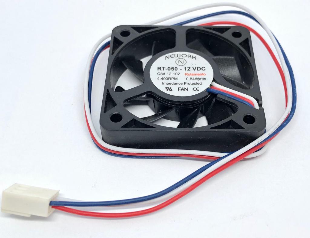 VENTILADOR FAN COOLER 50X50X10MM RT-050 12VDC 12.102 NEWORK (RT050 12102)