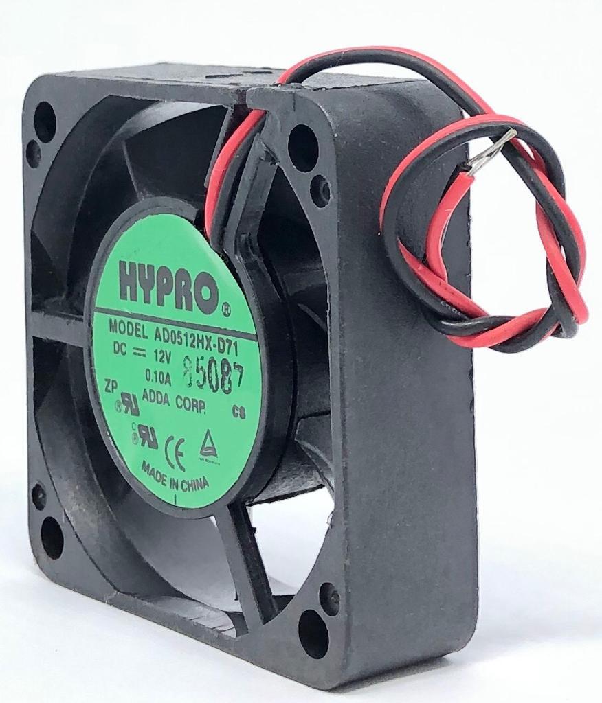 VENTILADOR FAN COOLER 50X50X15MM AD0512HX-D71 12VDC HYPRO (AD0512HXD71)