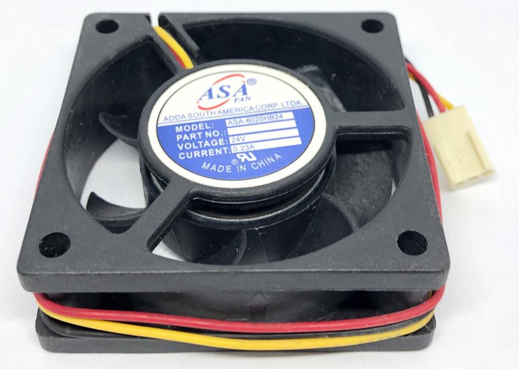 VENTILADOR FAN COOLER 60X60X20MM ASA6020HB-24 24VDC ADDA (ASA6020HB24)