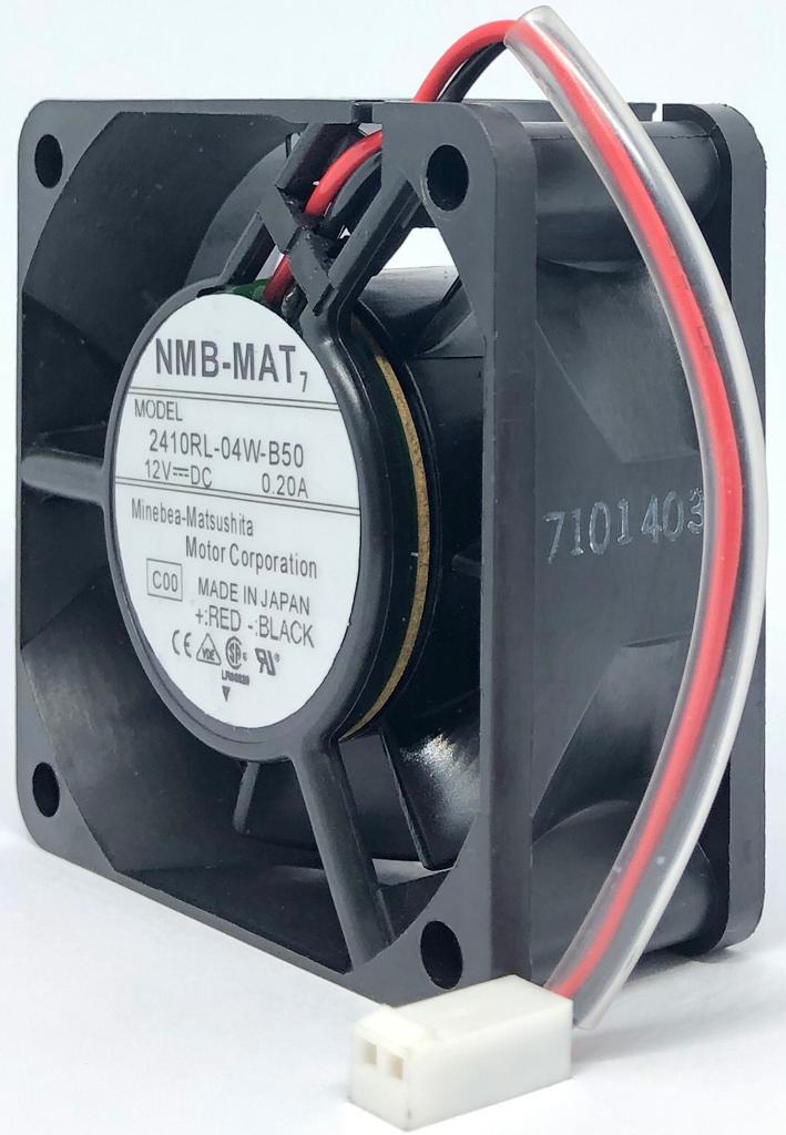 VENTILADOR FAN COOLER 60X60X25MM 2410RL-04W-B50 12VDC NMB (2410RL04WB50)