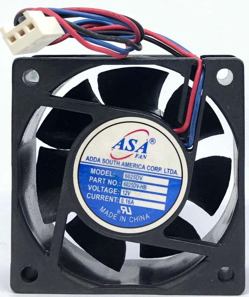 VENTILADOR FAN COOLER 60X60X25MM ASA6025DV-HB 12VDC ADDA (ASA6025DVHB)
