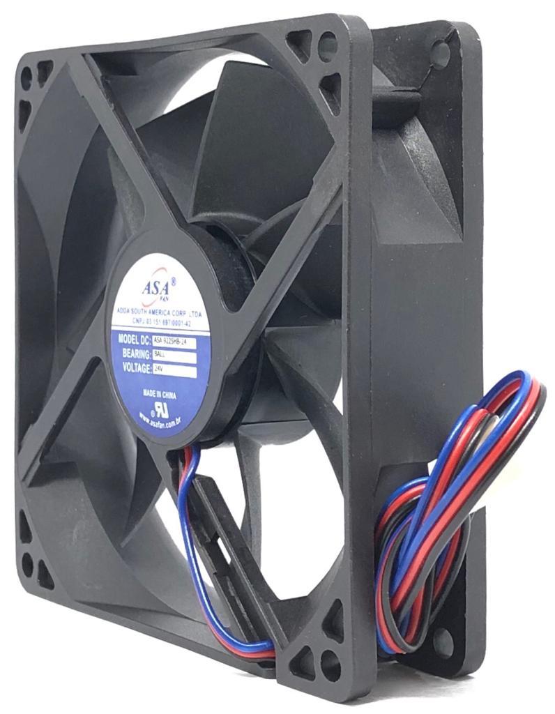VENTILADOR FAN COOLER 92X92X25MM ASA9225HB-24 24VDC ADDA (ASA9225HB24)