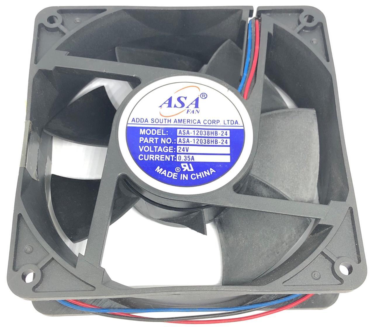 VENTILADOR FAN COOLER 120X120X38MM ASA-12038HB-24 24VDC ADDA (ASA12038HB24)