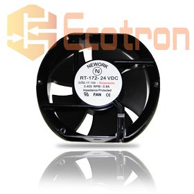 VENTILADOR FAN COOLER 172X150X51MM RT-172 24VDC 17.104 NEWORK (RT172 17104)