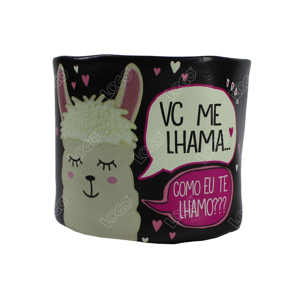 CACHEPOT PEQUENO LHAMA